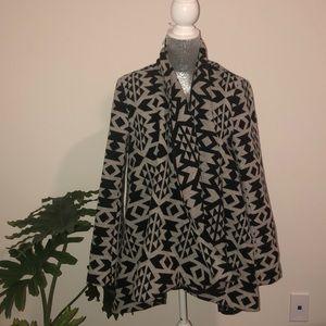 Aztec Print Jacket